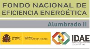 Logo Fondo Nacional de Eficiencia Energética Alumbrado II IDAE