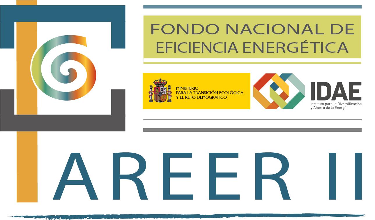 Logo Fondo Nacional de Eficiencia Energética PAREER II IDAE